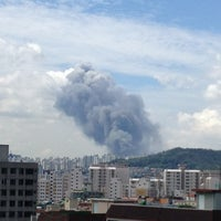 Photo taken at 정의여자중학교 by RYU J. on 8/13/2012