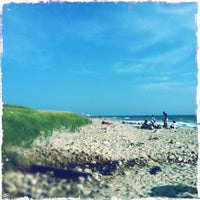 Photo taken at Gay Head Beach by Leif on 8/14/2012