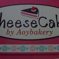 Photo taken at Cheese Cake by Aoy Bakery by Bee on 2/8/2011