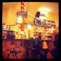 Photo taken at Équitable Café by Sweetsofa on 12/30/2011