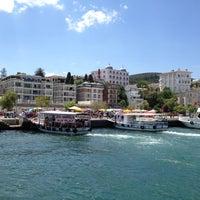 Photo taken at Büyükada Mavi Marmara Motor İskelesi by Ayse Nur G. on 7/19/2012