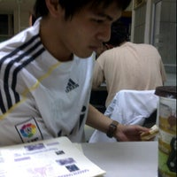Photo taken at Cafeteria, Faculty of Pharmaceutical Sciences (โรงอาหารคณะเภสัชฯ ตึกสาม) by Tanniti C. on 1/16/2012