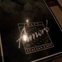 Photo taken at That's Amore by Nick B. on 10/28/2011