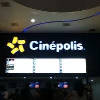 Photo taken at Cinépolis by Bereniice on 9/2/2012