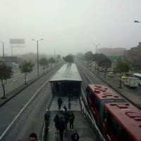 Photo taken at TransMilenio: Avenida Cali by Cesar V. on 10/26/2011