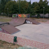 Photo taken at Ghisi Skate Park by Piercarlo S. on 8/12/2012