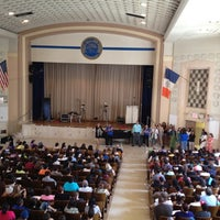 Photo taken at Forest Hills High School by Won Ha J. on 8/29/2012