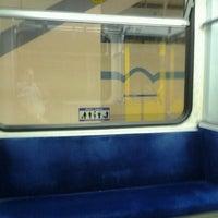 Photo taken at University LRT Station by Don P. on 7/9/2012