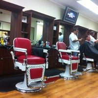 Photo taken at Ultimate Barbers by Alex on 8/17/2012