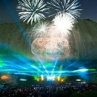 Foto tomada en Stone Mountain Park por Jeff C. el 6/29/2012