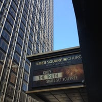 Photo taken at Times Square Church by Margaret B. on 5/20/2012