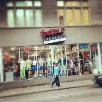 Photo taken at Buffalo Exchange by Stephen M. on 8/23/2012