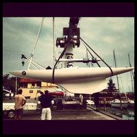 Photo taken at Balatonfüredi Yacht Club (BYC) by Gabor on 9/2/2012
