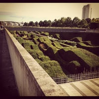 Photo taken at Thames Barrier Park by Jamie N. on 8/3/2012