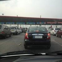 Photo taken at Gurgaon Toll Plaza by Manu K. on 8/4/2012