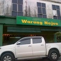 Photo taken at Warung Najua by Qyrn H. on 5/10/2012