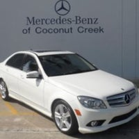 ... Photo Taken At Mercedes Benz Of Coconut Creek By Justin M. On 6/ ...