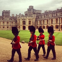 Photo taken at Windsor Castle by David G. on 8/7/2012