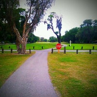 Photo taken at Babe Zaharias Golf Course by Hanna B. on 4/15/2012