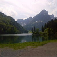 Photo taken at obersee by Claudia S. on 5/27/2012