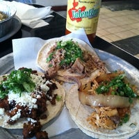 Photo taken at Choza Taqueria by Abby K. on 4/11/2012