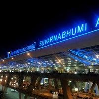 Photo taken at Suvarnabhumi Airport (BKK) by UltimaTUM® on 3/19/2012
