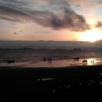 Photo taken at patenga Beach by Dr. Rajesh S. on 7/31/2012
