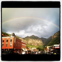 Photo taken at Telluride, CO by Telluride B. on 8/28/2012