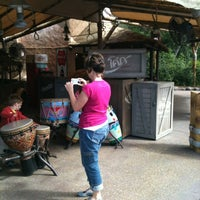 Photo taken at Vincent's African Drums by Donna W. on 3/4/2012