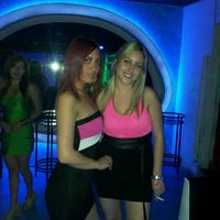 Photo taken at Aqua Club Discoteque by Juan Carlos M. on 2/15/2012