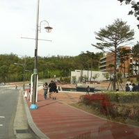 Photo taken at 단국대학교 상경관 by Clair C. on 5/1/2012