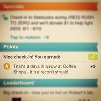 Photo taken at Starbucks by Jeff C. on 6/5/2012