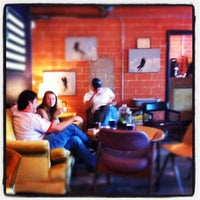 Photo taken at Antidote Coffee by Henry's Hungry Houston on 4/2/2012