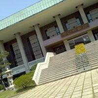 Photo taken at Busan Museum by Vissal P. on 5/6/2012