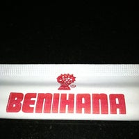 Photo taken at Benihana by Jane D. on 2/21/2012