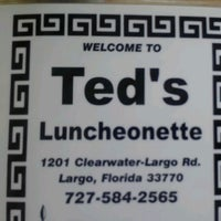 Photo taken at Ted's Luncheonette by Spring B. on 8/31/2012