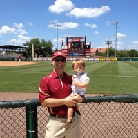 Photo taken at Dick Howser Stadium - Mike Martin Field by Jonathon I. on 5/5/2012