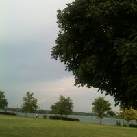 Photo taken at Rhodes Ferry Park by Amanda W. on 8/2/2012