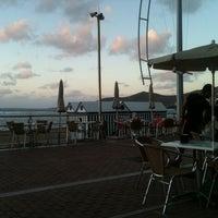 Photo taken at Gelizia Beach by Santi A. on 11/5/2011