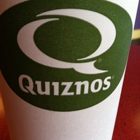 Photo taken at Quiznos by RC ⚾. on 6/17/2011