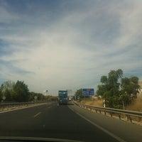 Photo taken at Autovía De Granada by Imad b. on 9/1/2012