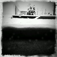 Photo taken at Massive Midwest Snow Storm by Ana A. on 2/5/2012