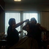 Photo taken at Hair Candy Salon by Roni C. on 10/30/2011
