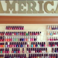 Photo taken at Nails of America and Spa by Dan K. on 10/28/2011