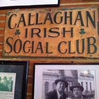 Photo taken at Callaghan's Irish Social Club by Ashley L. on 11/3/2011