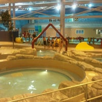 Photo taken at Gallagher Centre Water Park by Ed W. on 10/6/2011