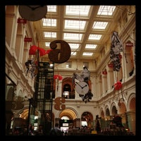 Photo taken at Melbourne's GPO by SuperMAY on 12/11/2011