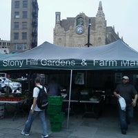 Photo taken at Journal Square Farmers' Market by Brandt D. on 7/13/2012