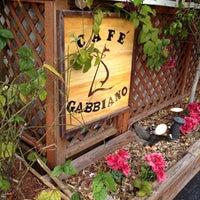 Photo taken at Cafe Gabbiano by Austin W. on 3/31/2012
