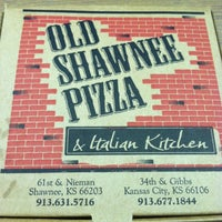 Photo taken at Old Shawnee Pizza & Italian Kitchen by Tiffany G. on 6/12/2012